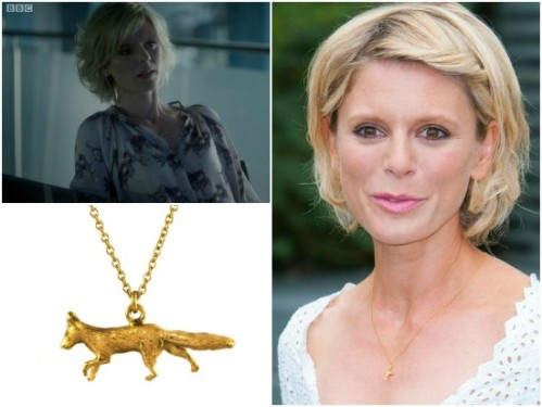 Emilia Fox (BBC's One's Silent Witness) is seen wearing pieces from the Chase Collection. (Photo via benna.co.uk)